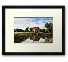 Water Mill Framed Print