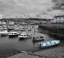 Aberaeron Harbour by Dave Ward