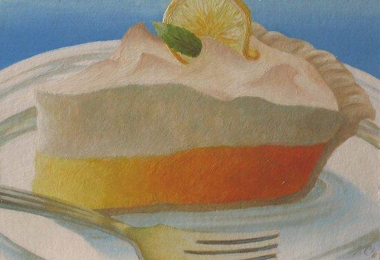 Food Luv--Lemon Meringue Pie by MysticMeadow