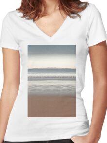 Schouten Island fantasy Women's Fitted V-Neck T-Shirt