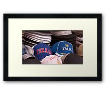 Hats Framed Print