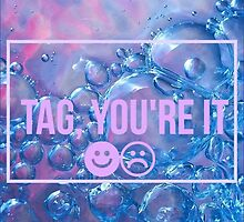 TAG YOU'RE IT by /(=・ x ・=)\  Pastel Bunny  /(^ × ^)\