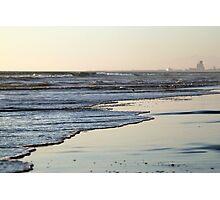 Beach Sunset Ormond Beach Photographic Print