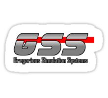 Gregarious Simulation Systems Employee Sticker