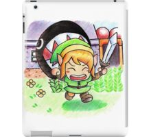 Run Link run iPad Case/Skin