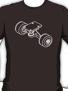 Skateboarding deconstructed (detail) T-Shirt