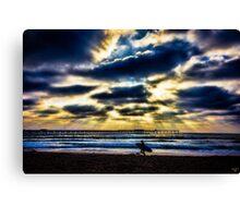 Pacific Beach Canvas Print