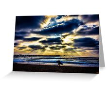 Pacific Beach Greeting Card