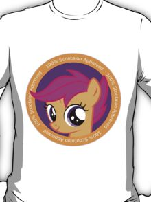 100% Scootaloo Approved T-Shirt
