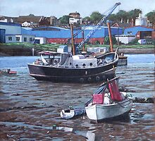 Southampton Northam boats by martyee