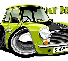 Mr Bean Mini caricature by car2oonz