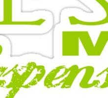 Test My Suspension - Green Sticker