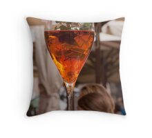 Spritz Aperol Throw Pillow