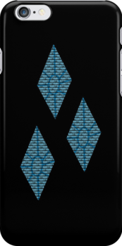 Rarity Text Black iPhone Cover by Alessandro Ionni