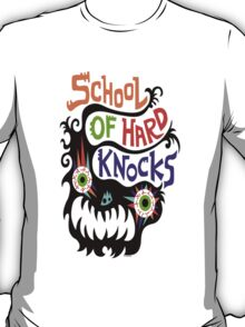 School Of Hard Knocks black T-Shirt