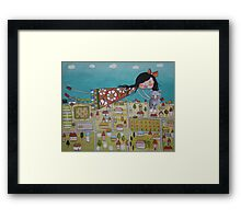 Lost Kitty found Framed Print