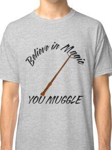 Bazinga Muggles Classic T-Shirt
