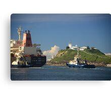 Hanjin Haypoint Cargo Ship Canvas Print