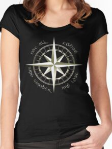 Not all those who wander are lost - J.R.R Tolkien - 2 Women's Fitted Scoop T-Shirt