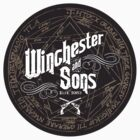 Winchester & Sons (Sigil) Sticker by Manny Peters