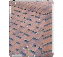 Top view of brown roof shingles iPad Case/Skin