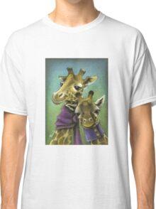 Hipster giraffes Classic T-Shirt
