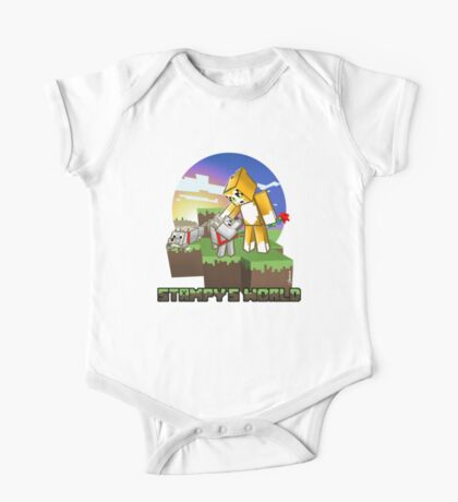 Mr Stampy cat and dogs at sunset One Piece - Short Sleeve