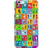 People Mega Set Isometric iPhone Case/Skin