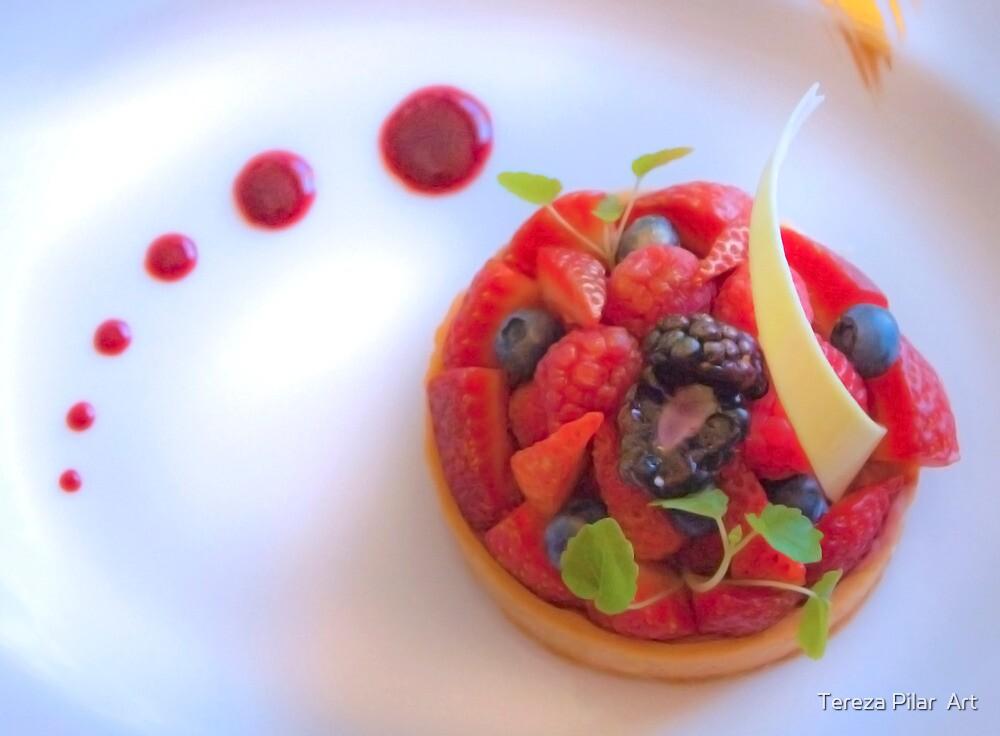 red fruit dessert by terezadelpilar~ art & architecture