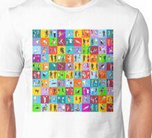 People Mega Set Isometric Unisex T-Shirt
