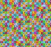 People Mega Set Isometric by aurielaki