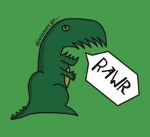 dinosaurs go RAWR by michaeldixonuk