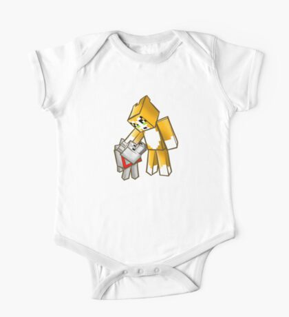 Stampy and Gregory the dog One Piece - Short Sleeve