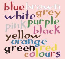 Geek colours Kids Tee