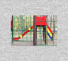 Empty children's playground and a slide in the park Unisex T-Shirt