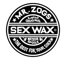 Mr Zogs Sex Wax - Black by Leo Barbieri