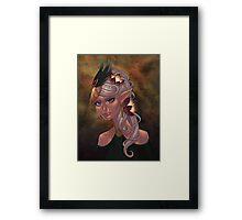 Elven Maiden Framed Print