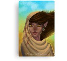 Desert Elf Canvas Print