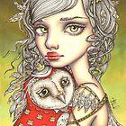Athena and Her Royal Companion by tanyabond