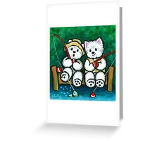 Fishing Buddies Greeting Card
