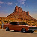 1966 Dodge Charger 500 by TeeMack