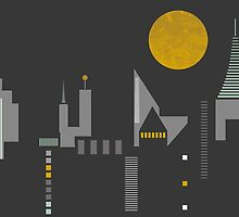 City scape by FLATOWL
