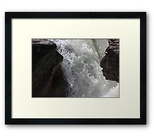 Elbow Falls Framed Print