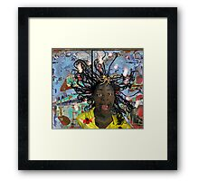 SURVIVING THE URBAN JUNGLE Framed Print