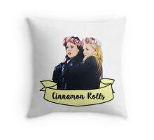 Swan queen Cinnamon Rolls Throw Pillow