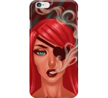 Smoke and Death iPhone Case/Skin