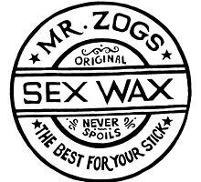 Mr Zogs Sex Wax - White by Leo Barbieri