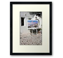 Courtyard Gallery Framed Print