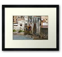 Terrace Lunch Framed Print