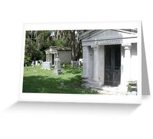 Cemetery House Greeting Card